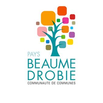 Logo - Communauté de Communes Beaume Drobie