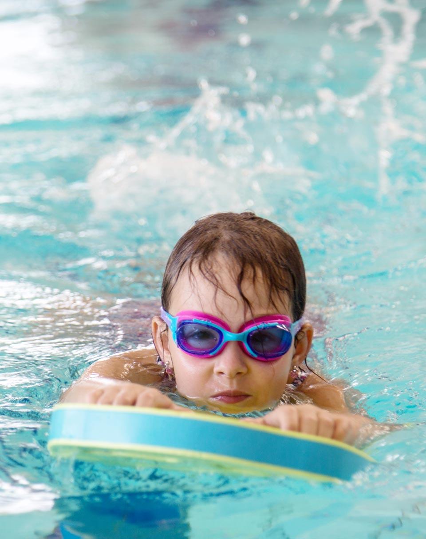 Apprentissage de la natation enfant
