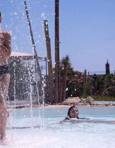 Jeux aquatiques bassins extérieurs