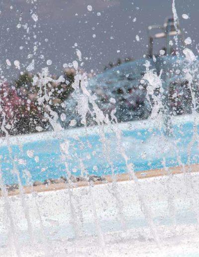 Jets et jeux d'eau extérieur